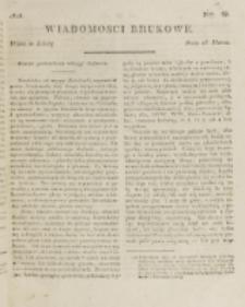 Wiadomości Brukowe. Nr 68 (1818).