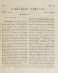 Wiadomości Brukowe. Nr 70 (1818)