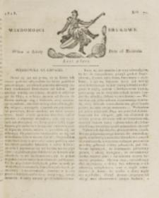 Wiadomości Brukowe. Nr 71 (1818)