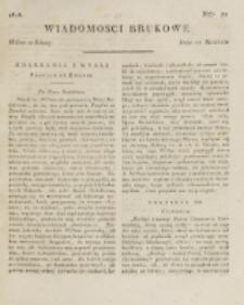 Wiadomości Brukowe. Nr 72 (1818).