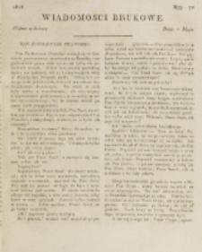 Wiadomości Brukowe. Nr 74 (1818)