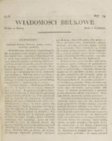 Wiadomości Brukowe. Nr 79 (1818)
