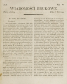 Wiadomości Brukowe. Nr 80 (1818)