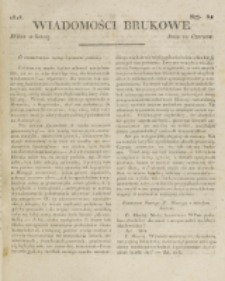 Wiadomości Brukowe. Nr 81 (1818)