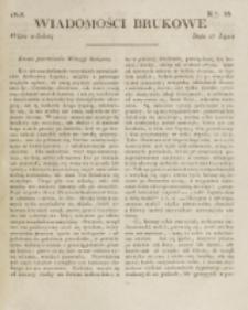 Wiadomości Brukowe. Nr 86 (1818)