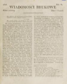 Wiadomości Brukowe. Nr 87 (1818)