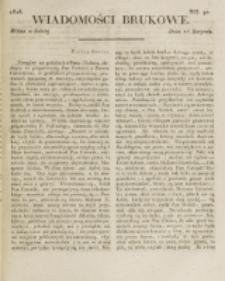 Wiadomości Brukowe. Nr 90 (1818)