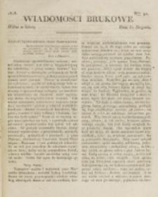 Wiadomości Brukowe. Nr 91 (1818)
