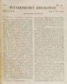 Wiadomości Brukowe. Nr 93 (1818)