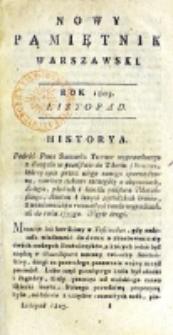 Nowy Pamiętnik Warszawski : [dziennik historyczny, polityczny, tudzież nauk i umiejętności]. T. 12 (listopad 1803)