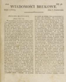 Wiadomości Brukowe. Nr 96 (1818)