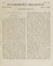 Wiadomości Brukowe. Nr 85 (1818)