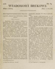 Wiadomości Brukowe. Nr 89 (1818)