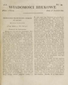 Wiadomości Brukowe. Nr 99 (1818).