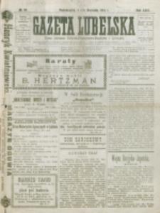 Gazeta Lubelska : pismo rolniczo-przemysłowo-handlowe i literackie. R. 29, nr 84 (1904)