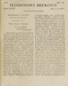 Wiadomości Brukowe. Nr 106 (1818)