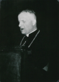 Sobór Watykański II, 23-25.VIII.1961 : dostojni prelegenci, J. E. ks. bp W. Urban