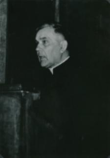 Sobór Watykański II, 23-25.VIII.1961 : dostojni prelegenci, ks. prof. W. Granat