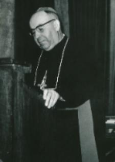 Sobór Watykański II, 23-25.VIII.1961 : dostojni prelegenci, J. E. ks. abp B. Kominek