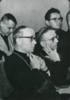 Sobór Watykański II, 23-25.VIII.1961 : audytorium, najczcigodniejsi uczestnicy wykładów