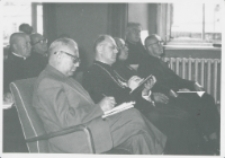 Sobór Watykański II, 23-25.VIII.1961 : ... nie tylko wysłuchać, ale i przekazać innym - redaktor K. Turowski skrzętnie notuje