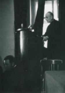 Ethos polskiego charakteru, 27-29. VIII. 1964 : przemówienie inauguracyjne wykładów wygłosił J. M. rektor KUL - ks. prof. dr Marian Rechowicz