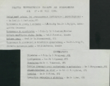 Ethos polskiego charakteru, 27-29. VIII. 1964 : program wykładów