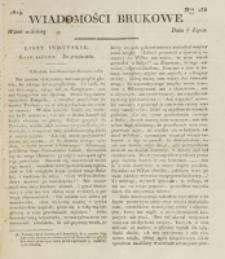 Wiadomości Brukowe. Nr 135 (1819)