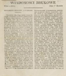 Wiadomości Brukowe. Nr 112 (1819)
