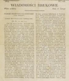 Wiadomości Brukowe. Nr 117 (1819)