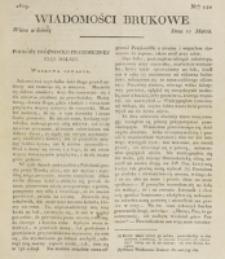 Wiadomości Brukowe. Nr 121 (1819)