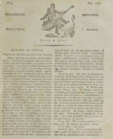 Wiadomości Brukowe. Nr 122 (1819)