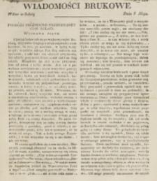 Wiadomości Brukowe. Nr 126 (1819)