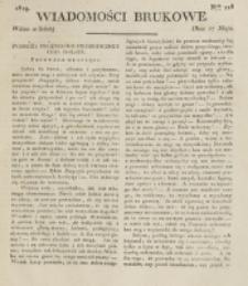 Wiadomości Brukowe. Nr 128 (1819)