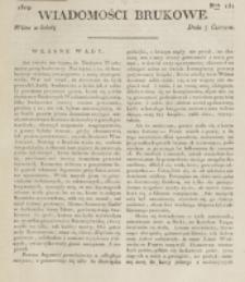 Wiadomości Brukowe. Nr 131 (1819)