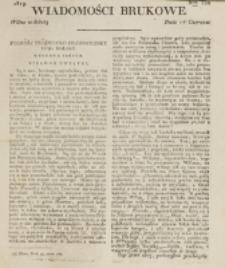 Wiadomości Brukowe. Nr 132 (1819)