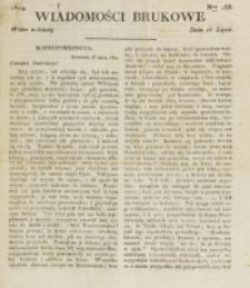 Wiadomości Brukowe. Nr 138 (1819)