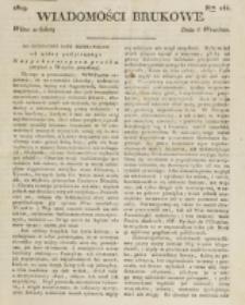Wiadomości Brukowe. Nr 144 (1819)