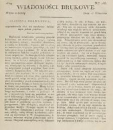 Wiadomości Brukowe. Nr 145 (1819)