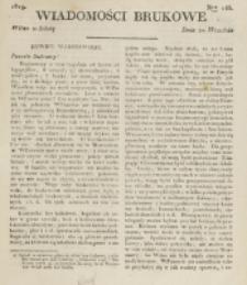 Wiadomości Brukowe. Nr 146 (1819)