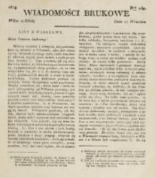 Wiadomości Brukowe. Nr 147 (1819).