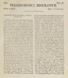 Wiadomości Brukowe. Nr 148 (1819)