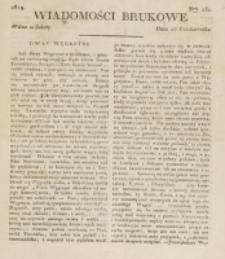 Wiadomości Brukowe. Nr 151 (1819)