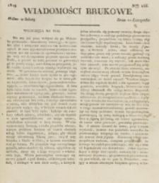 Wiadomości Brukowe. Nr 155 (1819)