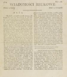 Wiadomości Brukowe. Nr 156 (1819)