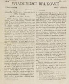 Wiadomości Brukowe. Nr 157 (1819)