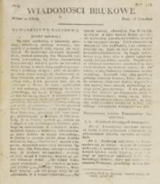 Wiadomości Brukowe. Nr 158 (1819)