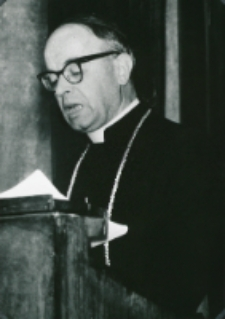 Sobór Watykański II, 23-25.VIII.1961 : dostojni prelegenci, J. E. Ks. Bp J. Groblicki