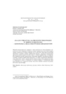 Analiza strukturalna procesów dekonwersji w okresie dojrzewania- konstrukcja skali dekonwersji adolescentów.
