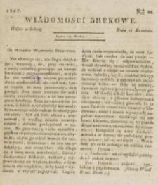 Wiadomości Brukowe. Nr 20 (1817)